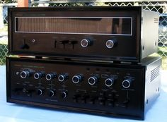 Sansui - TU-999 Tuner & AU-999 Integrated Amplifier