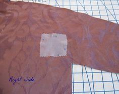 Reinforcing a Gusset: A Tutorial by vintage laura, via Flickr