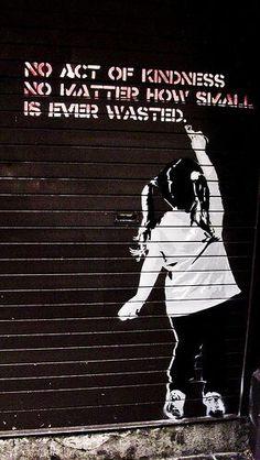 Ideas street art graffiti urban awesome banksy for 2019 Graffiti Artwork, Street Art Graffiti, Banksy Graffiti, Street Art Quotes, Banksy Canvas, Stencil Graffiti, Street Art Utopia, 3d Street Art, Amazing Street Art