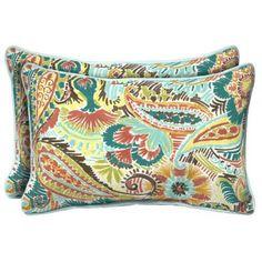 Hampton Bay Jovie Rectangular Outdoor Pillow (2-Pack)-JE12121C-D9D2 - The Home Depot