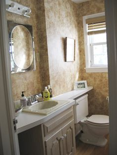 this 5 rather bathroom makeovers will give anyone the inspiration to give their own bathroom a new look!
