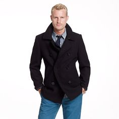 Authentic Bayswater peacoat from jcrew: just purchased. Getting ready for the chill.