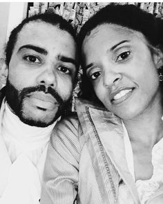 Renee Elise Goldsberry and Daveed Diggs