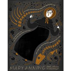 Women in Science - Mary Anning Poster