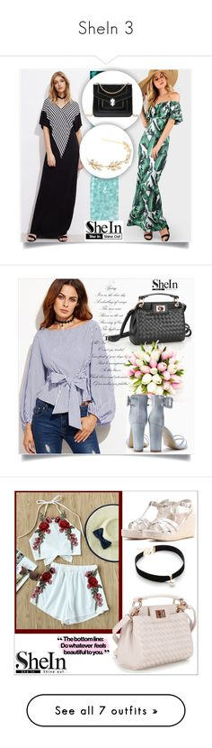 """SheIn 3"" by fashion-with-lela ❤ liked on Polyvore featuring Balmain"