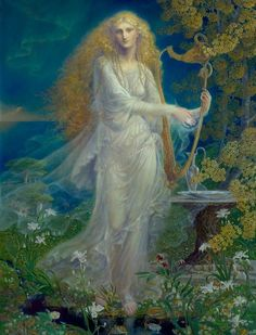The Queen of the Golden Wood by Kinuko Craft