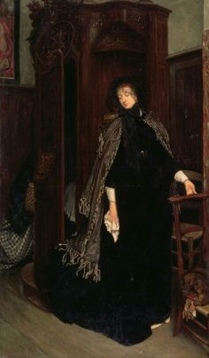James Tissot  In church, 1865