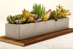"24"" concrete planter"