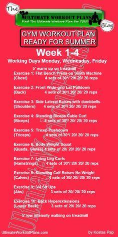 free workout chart template  fitness  pinterest  chart