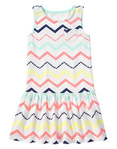 Neon Chevron Dress at Gymboree