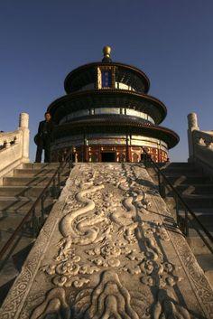 Temple of Heaven Tiantan, Beijing, China http://www.beijinglandscapes.com/beijing-temple-of-heaven-tour.html