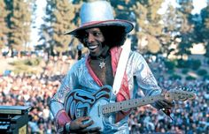 Sly Stone always keeping it one hundred.