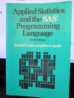 18 best sas programming images on pinterest sas programming base applied statistics and the sas programming language fandeluxe Image collections