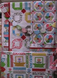 Bee In My Bonnet: Fall Quilt Market Photos. ADORABLE LORI! LOVE YOUR FABRICS ANS DESIGNS!