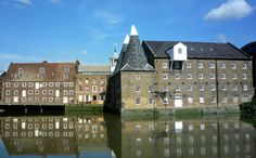Located just south of the Olympic Park is Three Mills Island - home to the largest tidal mill in the world and also home to London's largest film studio