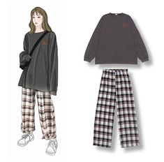 How to design clothes sketches 44 ideas How to design clothes sketches 44 ideasYou can find Designer clothing and more on our website.How to design clothes sketches 44 idea. Kpop Fashion Outfits, Ulzzang Fashion, Korean Outfits, 70s Fashion, Cute Fashion, Look Fashion, Fashion Dresses, Fashion Fall, Fashion Men