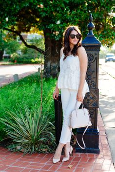 White Summer Outfit | Kendi Everyday