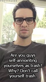 Postive message from Brendon Urie