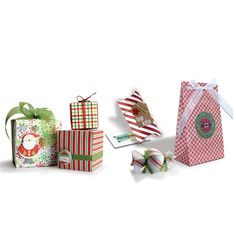 Punch Board Gift Boxes, Gift Bags, Pillow Boxes, and Candy Boxes