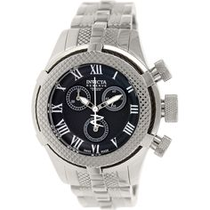 Invicta Women's Bolt 17156 Silver Stainless-Steel Swiss Chronograph Watch