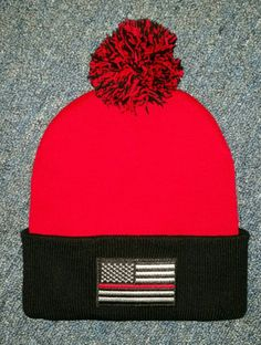 Check out this item in my Etsy shop https://www.etsy.com/listing/499627130/red-and-black-winter-cuffed-pom-pom-hat