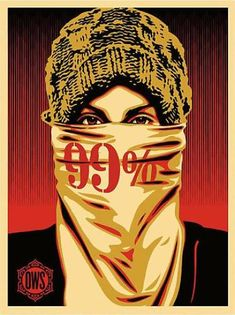 SHEPARD FAIREY - OCCUPY PROTESTOR - REED PROJECTS GALLERY http://www.widewalls.ch/artwork/shepard-fairey/occupy-protestor/ #print