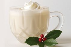 top 10 warme winterdranken - eggnog