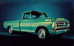 1971 Ford Pickup Truck, my 72 looked exactly like this Ranger XLT with a 390.