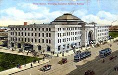 Vintage Winnipeg postcard turn of the 20th century.