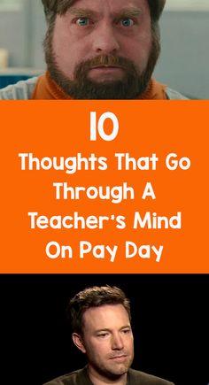 teacher's mind pay day