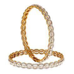 Prince Jewellery Diamond Bangle - Product Code : 3-12B69175