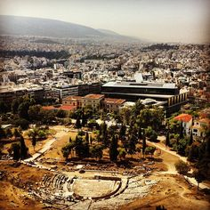 View from Acropolis...