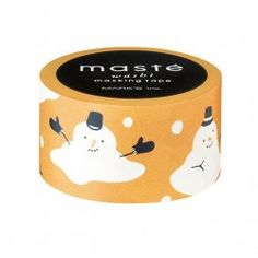masking tape snow man multi Masté