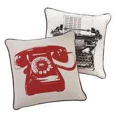 Ben De Lisi Home Retro Phone Cushions @Debenhams.