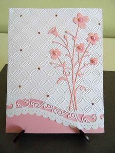 Set of 4 Bella Bouquet Cutouts from Card Stock Memory Box Steel Die Handmade | eBay