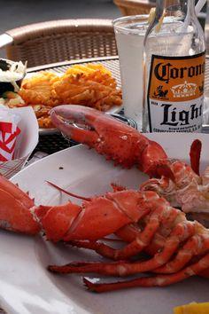 lobster = summer fav