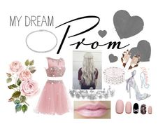 """""""My PINK dream prom"""" by dncmonster on Polyvore featuring Suzanne Kalan, Disney, Static Nails, Bling Jewelry and Nak Armstrong"""