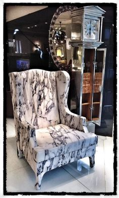 Marble upholstery