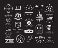 Logo Concepts by Nick Hood for ATH Sports Nutrition