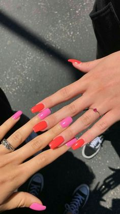 Are you willing to try the most fashionable nail art? Nail Swag, Aycrlic Nails, Hair And Nails, Coffin Nails, Fire Nails, Best Acrylic Nails, Instagram Nails, Dream Nails, Nagel Gel
