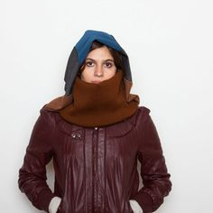 Praha Hooded Scarf, $38, now featured on Fab.