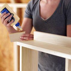 Fabriquer une armoire murale et table rabattable de balcon DIY