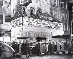 March 24th, 1944 - Genesee Theatre premiere of The Navy Way.