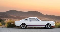 This Martini-liveried Mustang is the coolest pony car in the Wild West | Classic Driver Magazine