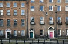 Lined with outsize Georgian buildings, Henrietta Street has been, over the years, home to both tenement squalor and aristocratic grandeur. Georgian Buildings, Advertising Archives, Portrait Editorial, T Magazine, York Street, Historical Architecture, Dublin Ireland, Future Travel, City Buildings
