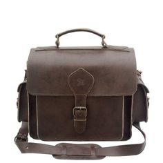 Grafea PHOTO(brown) Leather Camera Bag