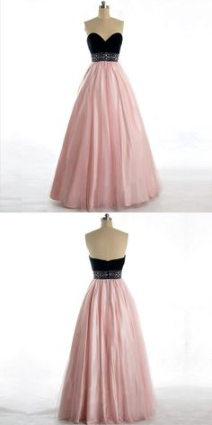 Fabulous Strapless Pearl Pink Long Prom Dresses With Sweetheart,Affordable A-Line Prom Dresses Mend My Dress Cocktail Bridesmaid Dresses, Prom Dresses Long Pink, Long Prom Gowns, A Line Prom Dresses, Prom Dresses Online, Wedding Party Dresses, Ball Dresses, Strapless Dress Formal, Banquet Dresses