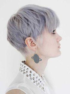 Lilac Color Ideas for Short Hair