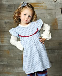 Matilda Jane Clothing - Luna Dress    want to get for Cerys since we have matching shorties #matildajaneclothing , #MJCdreamcloset