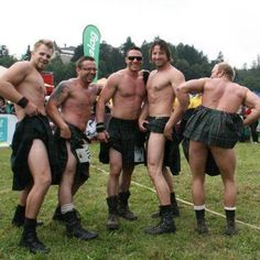 So it's true: men in kilts love being ogled